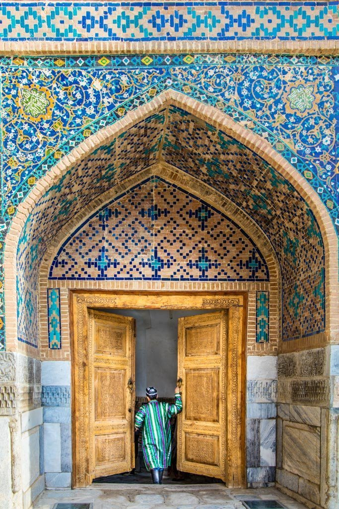 Uzbekistan, Central Asia, Uzbekistan travel guide, Uzbekistan travel, Uzbekistan guide, Samarkand, Tilla Kari Madrasa, Tilla Kari, Registan, Registan Square
