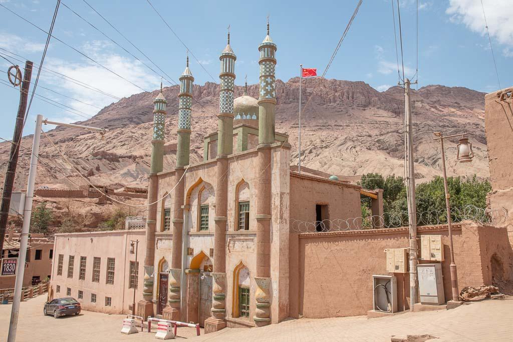 Turpan, Tulufan, Turfan, Xinjiang, Xinjiang Uyghur Autonomous Region, Turpan one day, one day Turpan, China, Western China, Tuyoq, Tuyoq Village, Tuyoq mosque