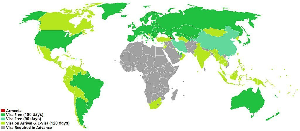 Visa policy of Armenia