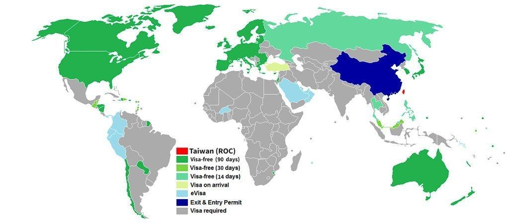 Visa policy of Taiwan
