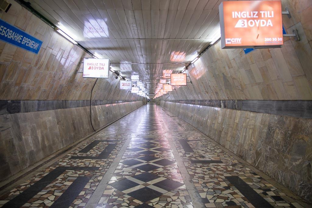 Tashkent Metro Tunnel, Tashkent Metro, Tashkent, Uzbekistan, Ozbekiston, Central, Asia, metro, subway, Uzbekistan metro, Uzbekistan metro
