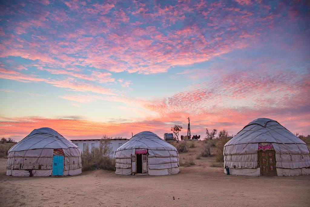 Uzbekistan, Central Asia, Aydarkul, Aydar, Aydar yurt camp, Navoi