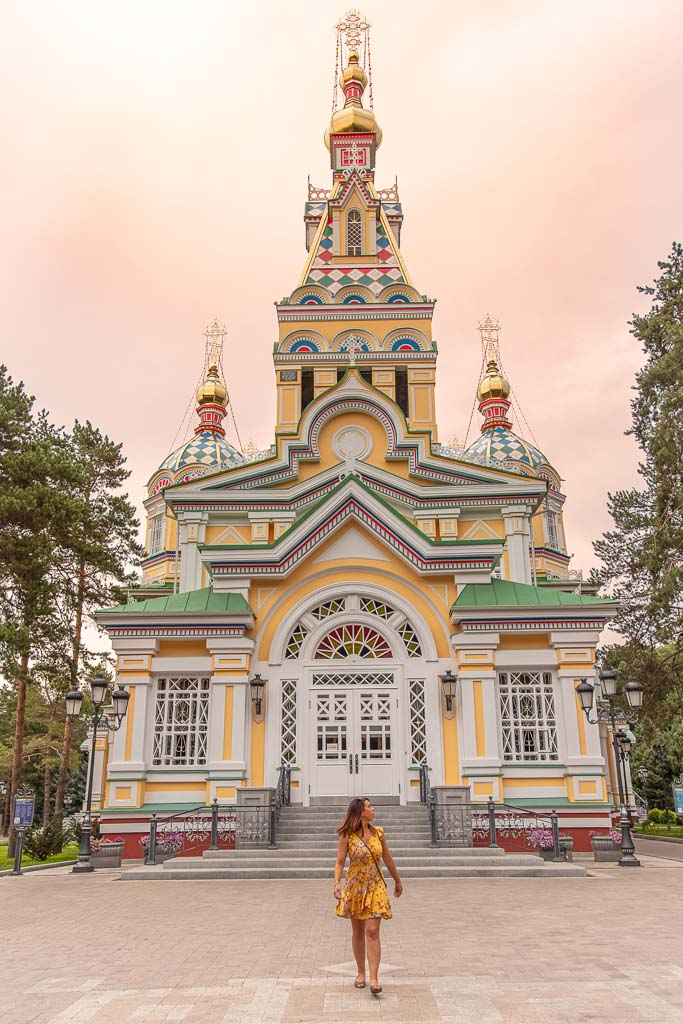 Kazakhstan, Almaty, Zenkov, Zenkov Cathedral, Ascension Cathedral, Almaty Cathedral, Almaty Church, Orthodox Church, Orthodox cathedral, Panfilov Park, adventures of nicole, adventures of lil nicki