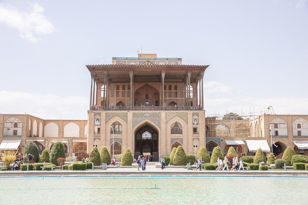 Kakh e Ali Qopu, Ali Qopu Palace, Ali Qopu Palace Esfahan, Naqsh e Jahan Square, Esfahan, Isfahan, Persia, Iran