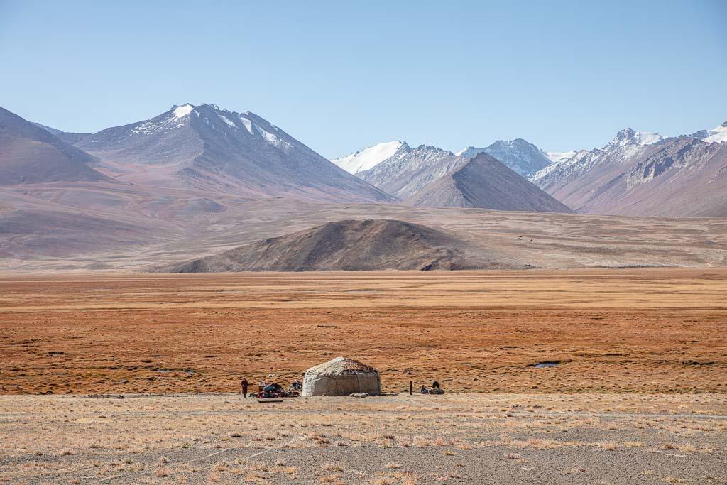 Yurt, Yurt Alichur, Alichur, Pamir, Pamirs, Pamir Highway, Eastern Pamir, Tajikistan