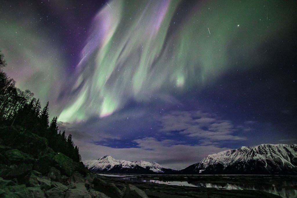 Aurora, Northern Lights, Aurora Borealis, northern lights in Alaska, northern lights Alaska, aurora Alaska, aurora in Alaska