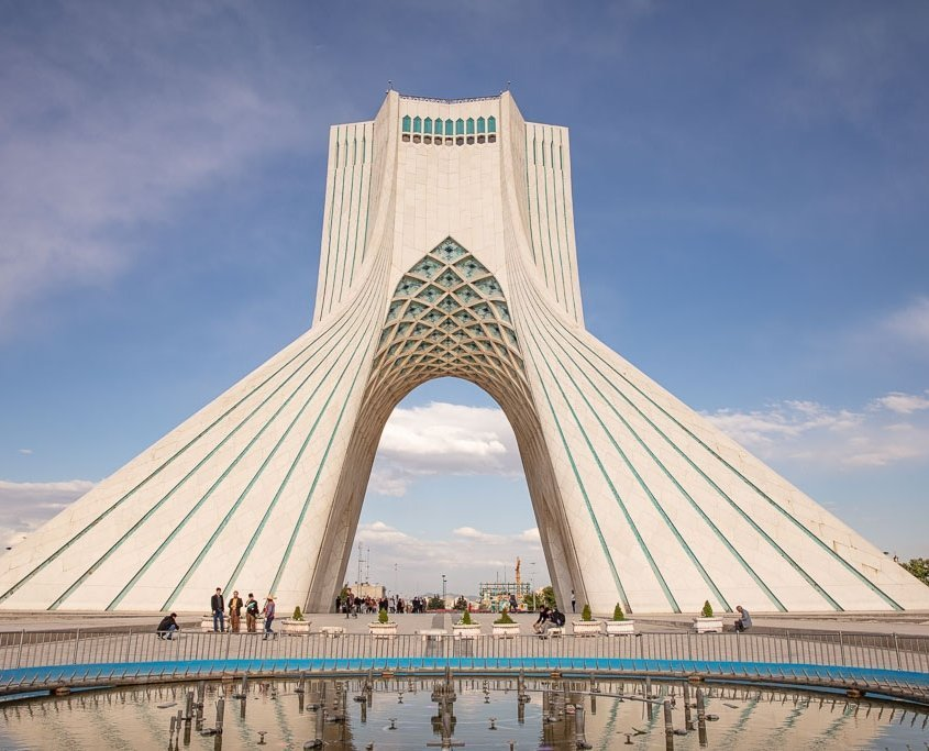 Azadi Tower, Adazi Tower Tehran, Freedom Tower, Freedom Tower Tehran, Tehran, Iran