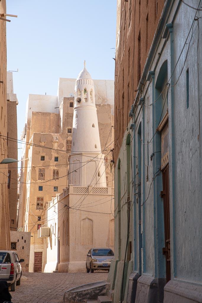 Batheeb Mosque, Batheeb Mosque Shibam, Bahid Mosque Shibam, Shibam, Wadi Hadhramaut, Hadhramaut, Yemen