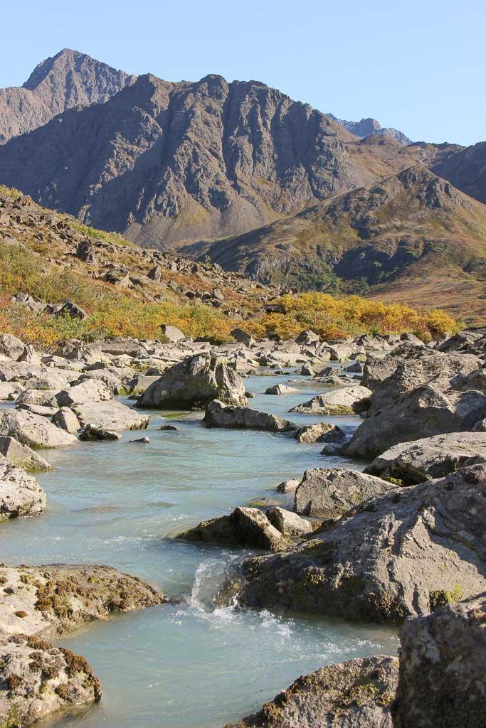 Eagle & Symphony Lakes, Symphony Lake, Eagle River, Alaska, Chugach, Chugach State Park