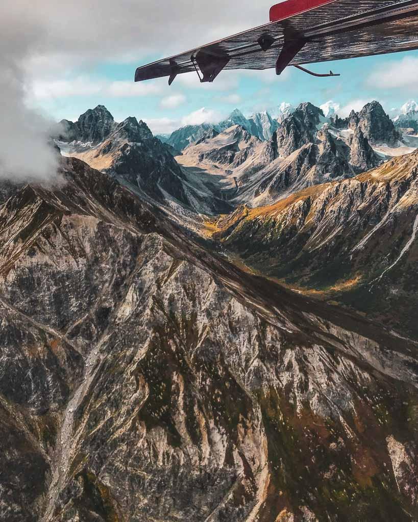 Flightseeing, Flightseeing Denali, Denali, Denali National Park, Alaska