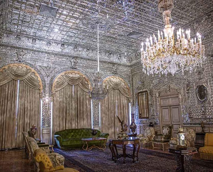 Hall of Mirrors, Hall of Mirrors Tehran, Hall of Mirrors Golestan Palace, Golestan Palace, Tehran, Iran
