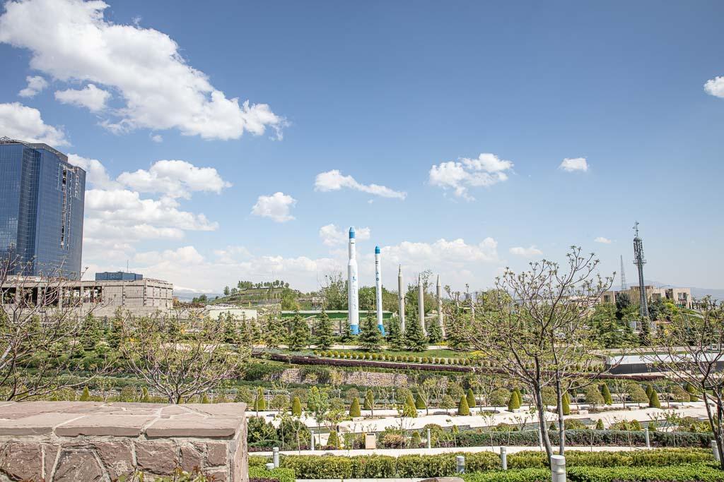 Holy Defense Museum, Iran-Iraq war museum, Talaghani Park, Tehran, Iran