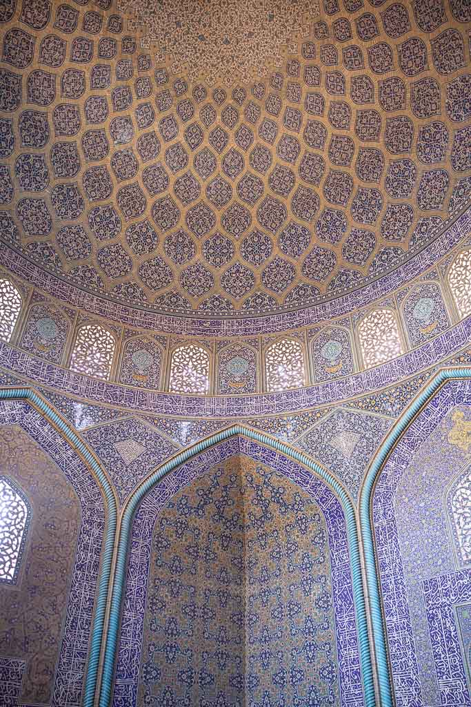 Sheikh Lotfollah Mosque, Sheikh Lotfollah Mosque Esfahan, Naqsh e Jahan Square, Esfahan, Isfahan, Persia, Iran