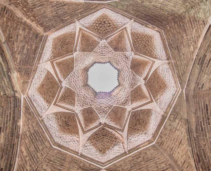 Muqarnas, Great Mosque of Esfahan, Jameh Mosque, Joma Mosque Esfahan, Esfahan, Isfahan, Persia, Iran