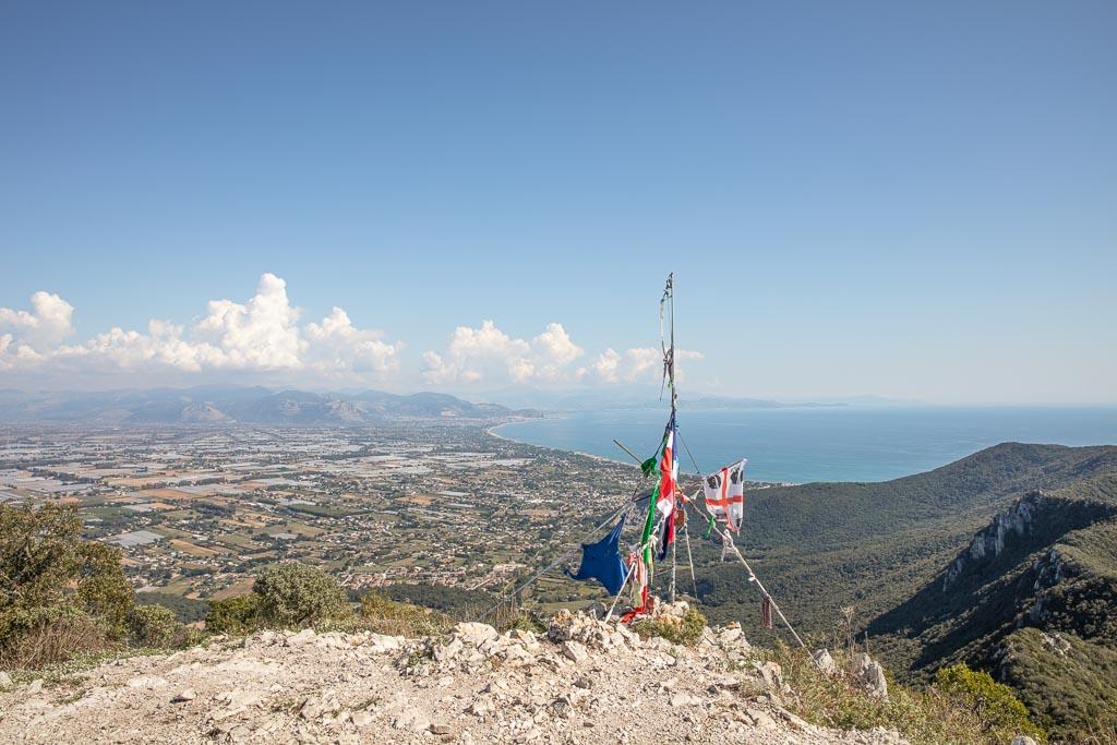 Circeo Peak, Picco di Circe, Mount Circeo, San Circeo Felica, Latina, Lazio, Italy