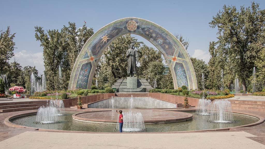 Tajikistan, Tajikistan travel, Tajikistan travel guide, Tajikistan guide, Dushanbe, Dushanbe Guide, Dushanbe City Guide, Dushanbe Travel Guide, Rudaki Statue, Rudaki Park, Rudaki, Bag-i-Rudaki