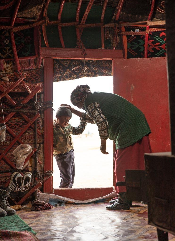 Sary Goram, Tajikistan, GBAO, Eastern Pamirs, yurt