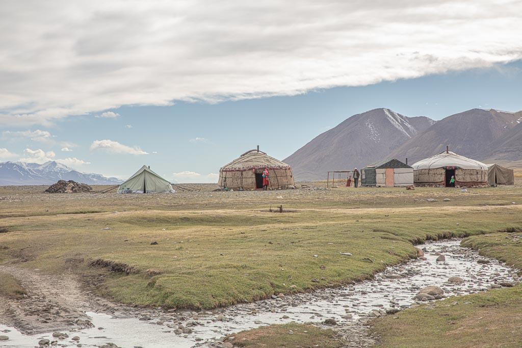 Yurt, Sary Goram, Tajikistan, Eastern Pamir