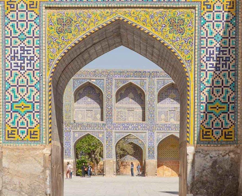 Shah Mosque, Shah Mosque Esfahan, Naqsh e Jahan Square, Esfahan, Isfahan, Persia, Iran