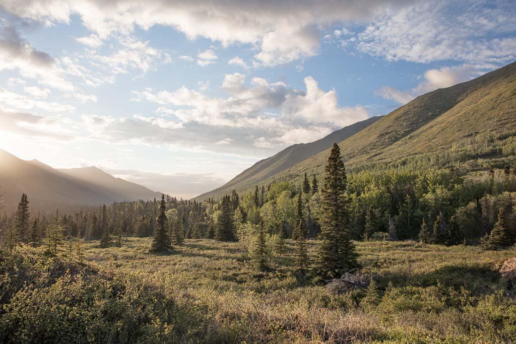 Eagle & Symphony Lakes, Symphony Lake, Eagle River, Alaska, Chugach, Chugach State Park, South Fork Eagle River Trail