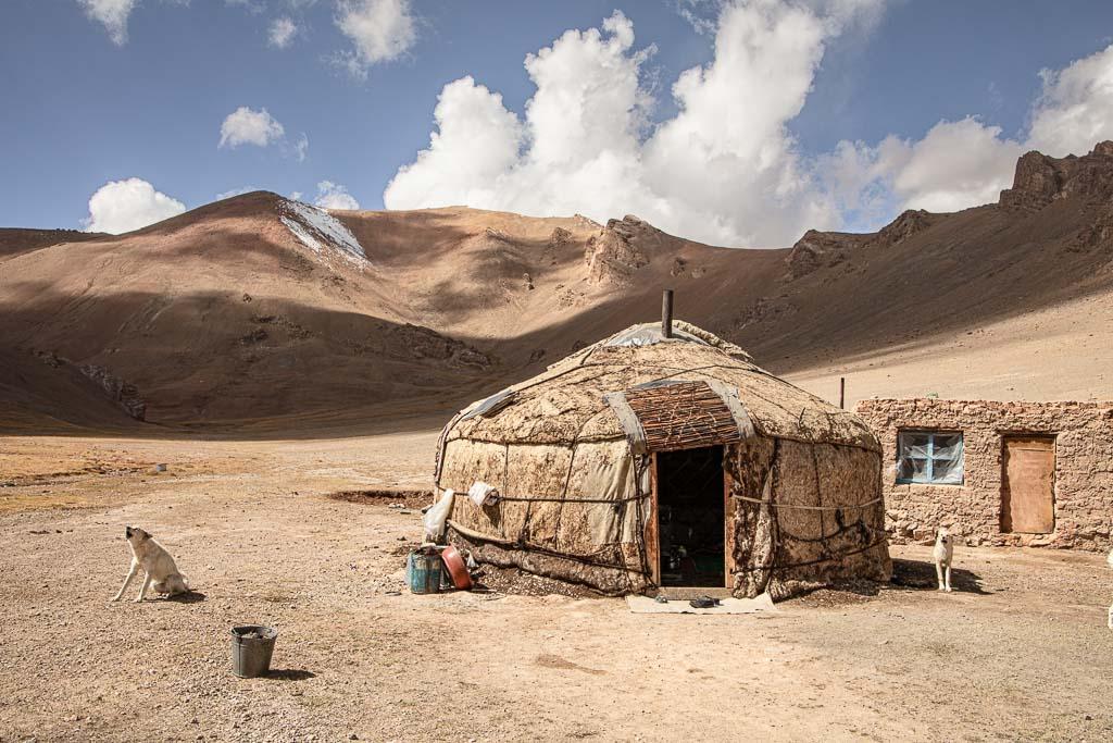 Yurt, Yurt Eastern Pamir, Yurt Pamir, Pamir, Pamirs, Eastern Pamir, Tajikistan