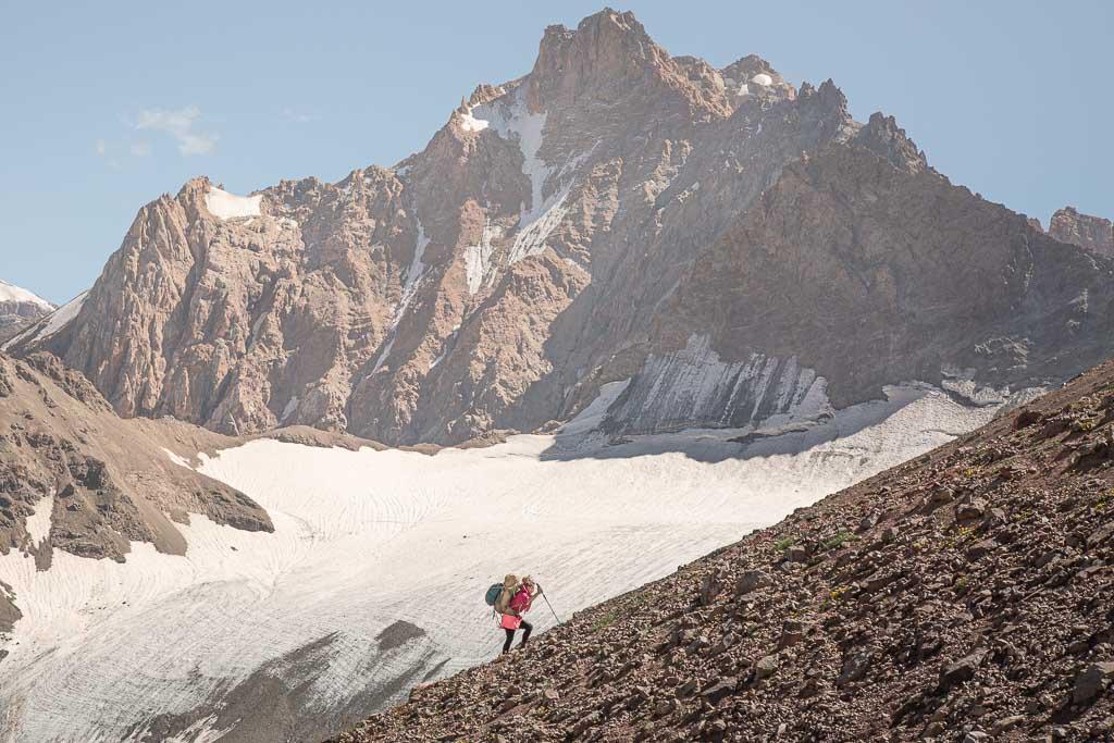 Gardan i Kaftar, Gardan i Kaftar Pass, Peter the I Range, Rasht Valley, Karotegin, Karotegin Valley, Badakshan, GBAO, Tajikistan, Central Asia