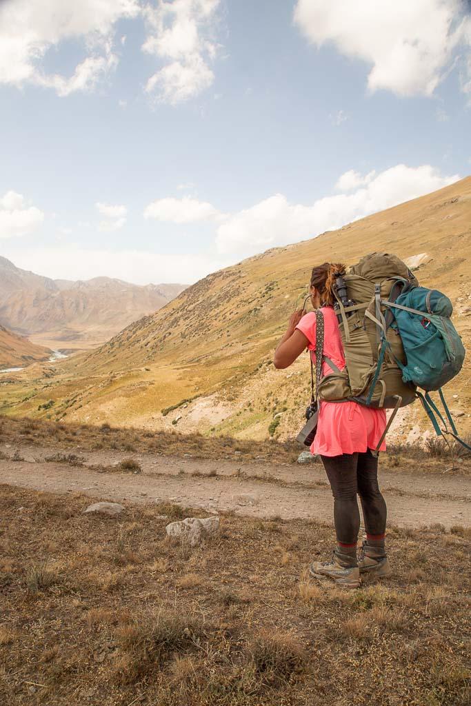 Gardan i Kaftar Trek, Rasht Valley, Karotegin, Tajikistan