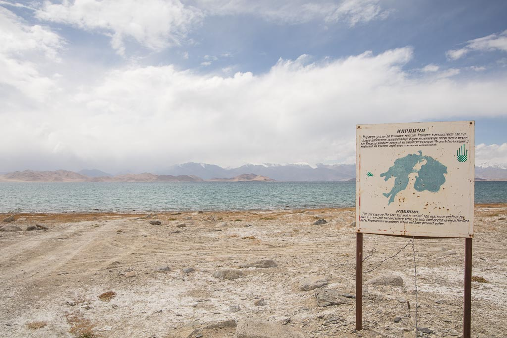 Karakul, Karakul Lake, Tajikistan, Eastern Pamir