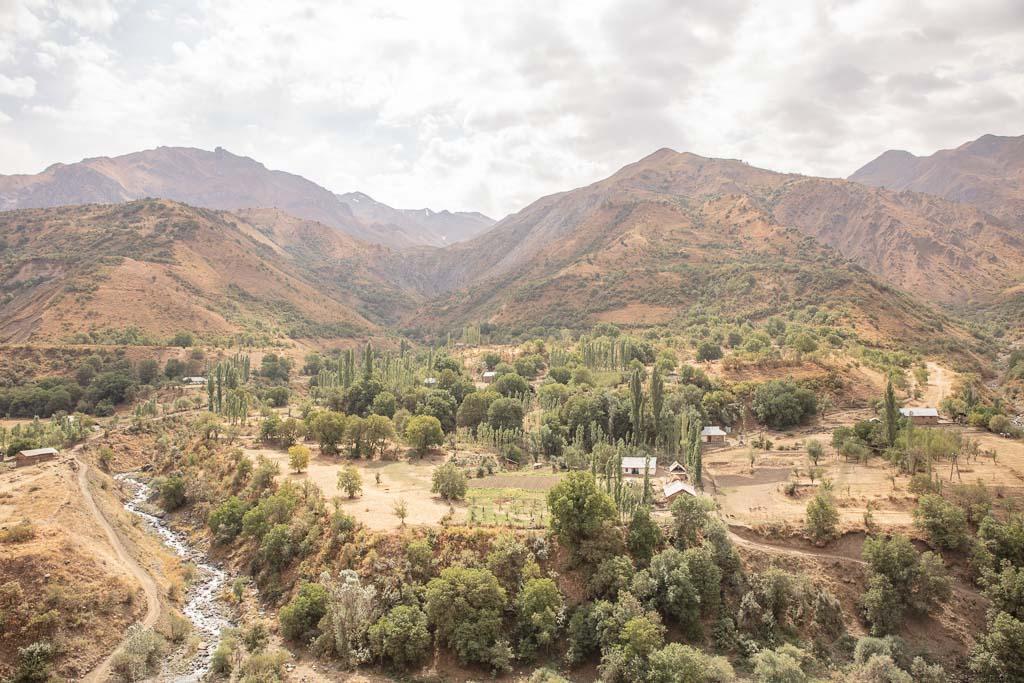 Khingob River, Khingob Valley, Khingob, Tajikistan, Pamir, Central Asia, Rasht Valley, Garden i Kaftar Trek, Sangvor