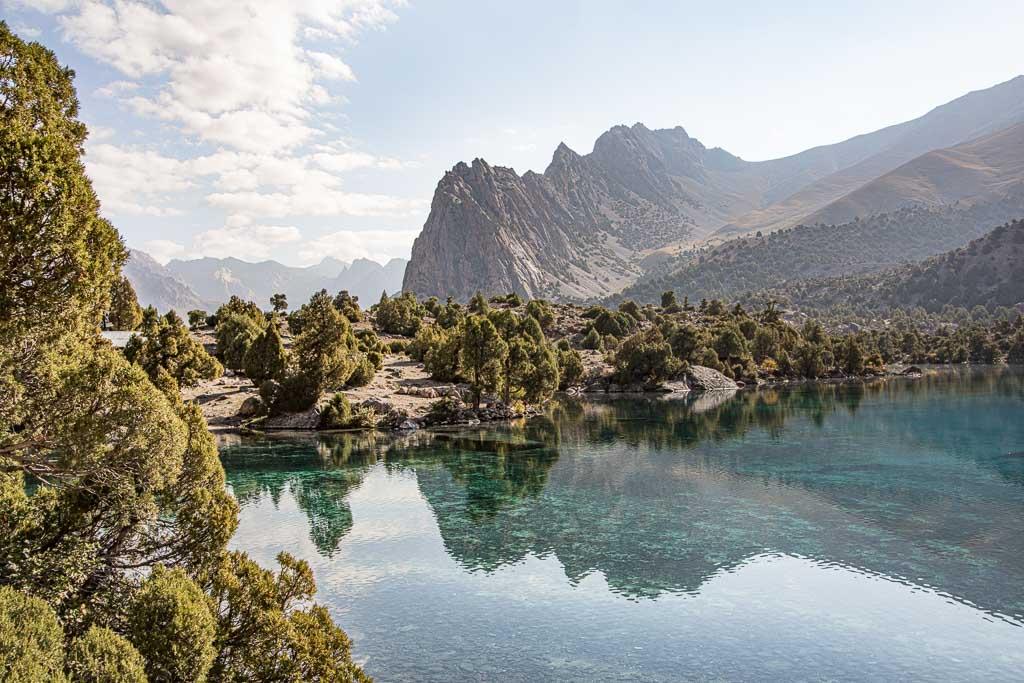 Alovaddin, Alaudden, Alaudden Lake, Alovaddin Lake, Fann Mountains, Tajikistan