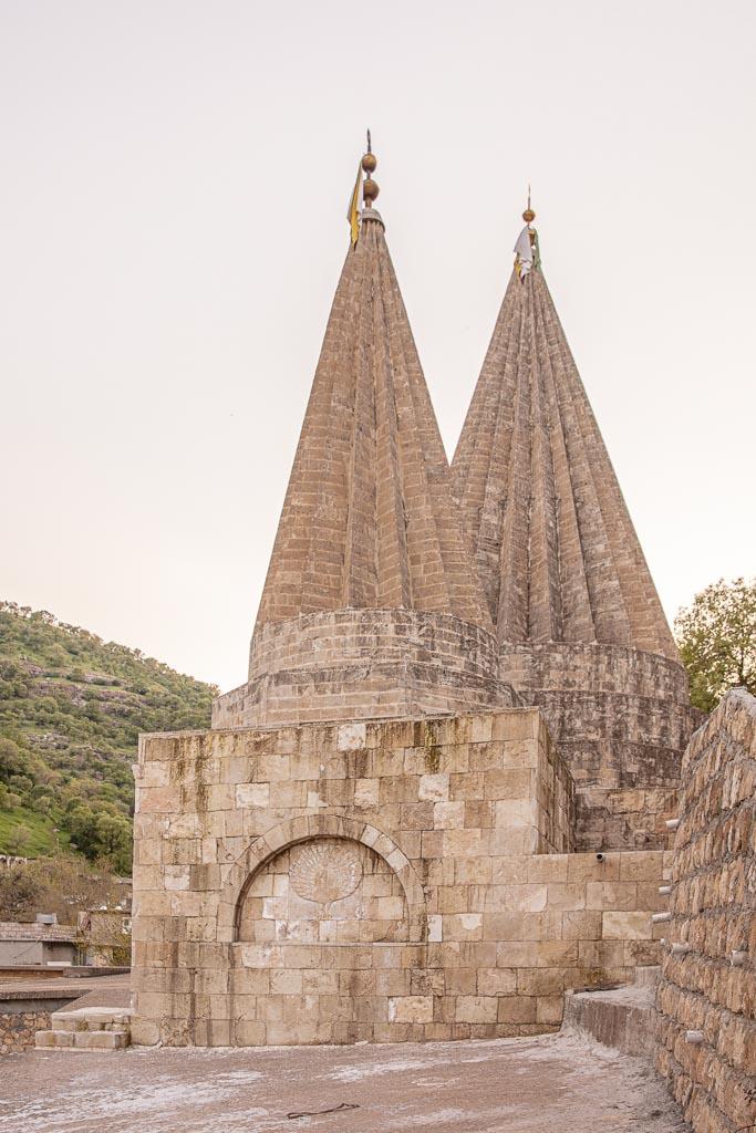 Tomb Of Sheikh Adi Ibn Musafir, Lalish, Yazidi, Iraq, Iraqi Kurdistan