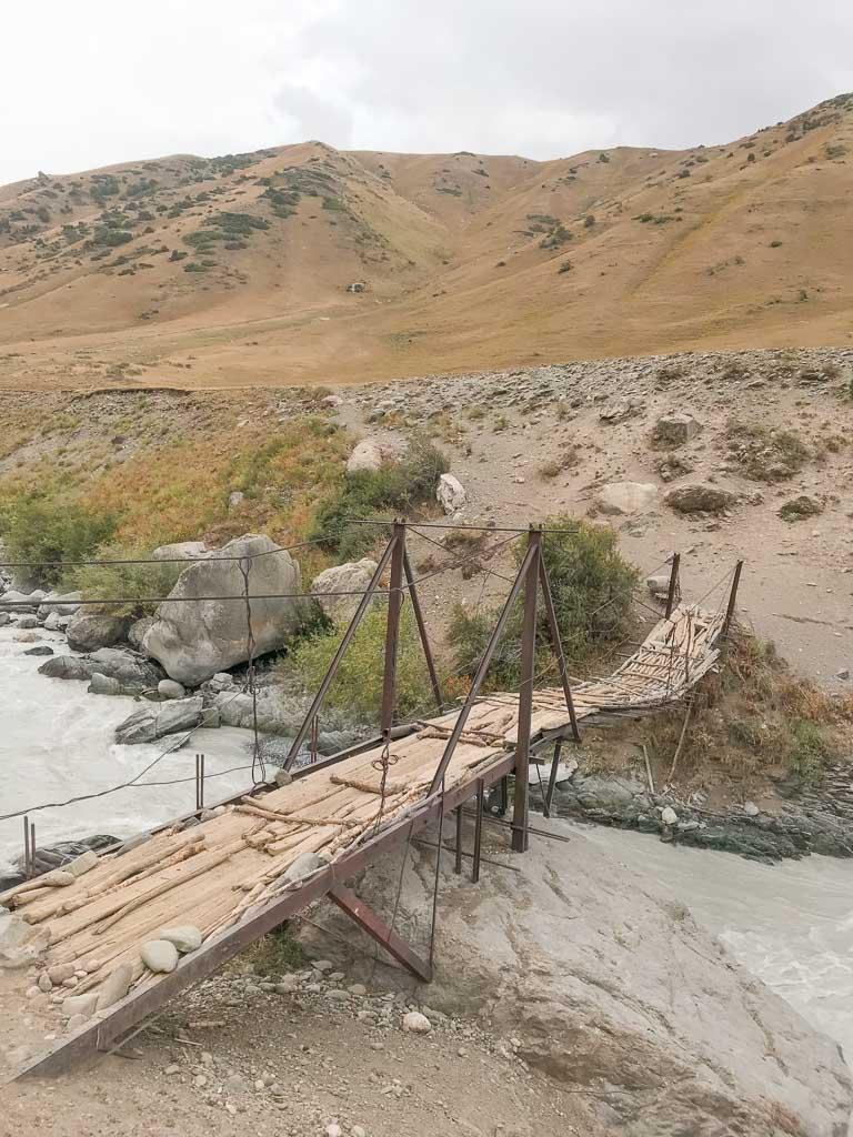 Obikulika River, Obikulika, Rasht Valley, Karotegin, Gardan i Kaftar, Tajikistan