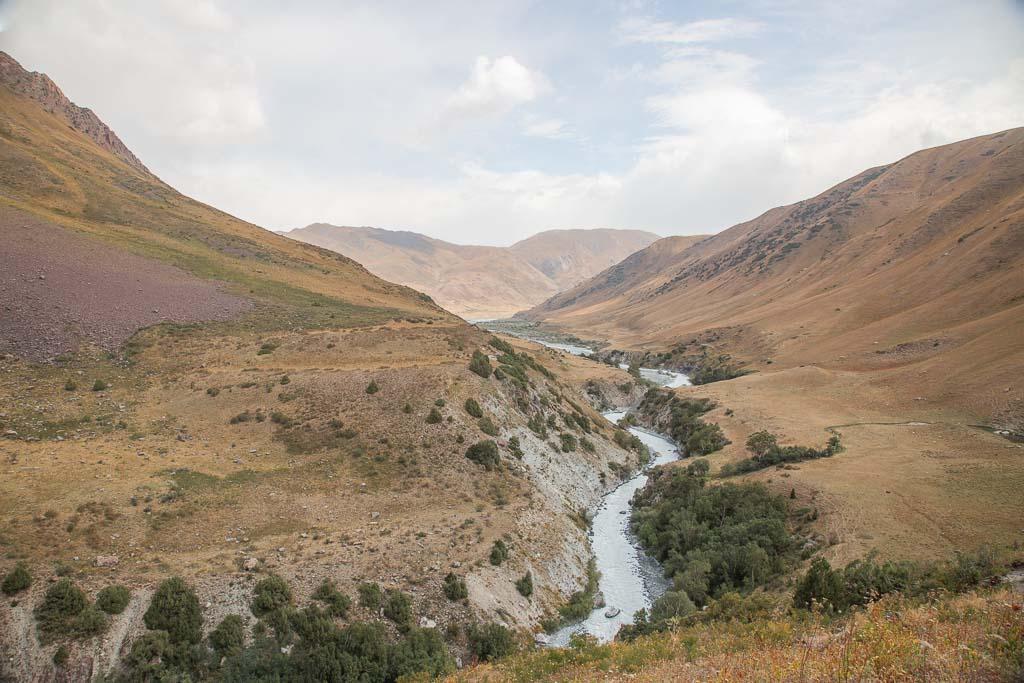 Obikulika River, Shaklysu, Shaklysu Ruver, Tupchak, Tupchak Plateau, Gardan i Kaftar, Rasht Valley, Karotegin, Karotegin Valley, Badakshan, GBAO, Tajikistan, Central Asia