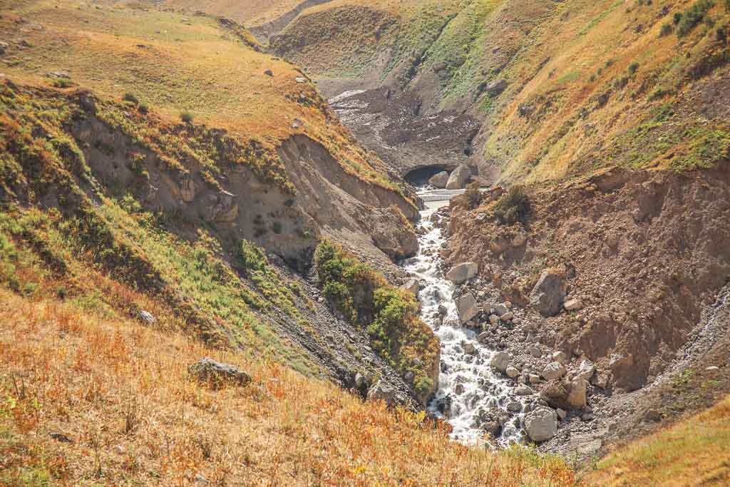 Pulisangin River, Pulisangin, Pulisangin Valley, Gardan i Kaftar, Rasht Valley, Karotegin, Karotegin Valley, Badakshan, GBAO, Tajikistan, Central Asia
