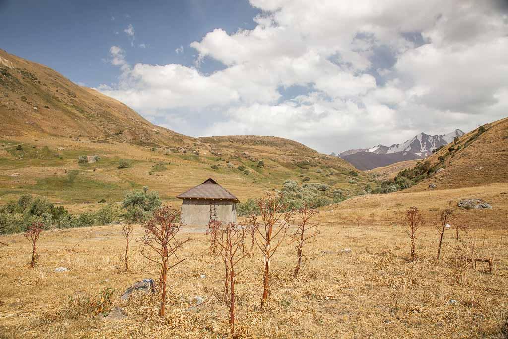 Shepherd House, Gardan i Kaftar Trek, Rasht Valley, Karotegin, Tajikistan