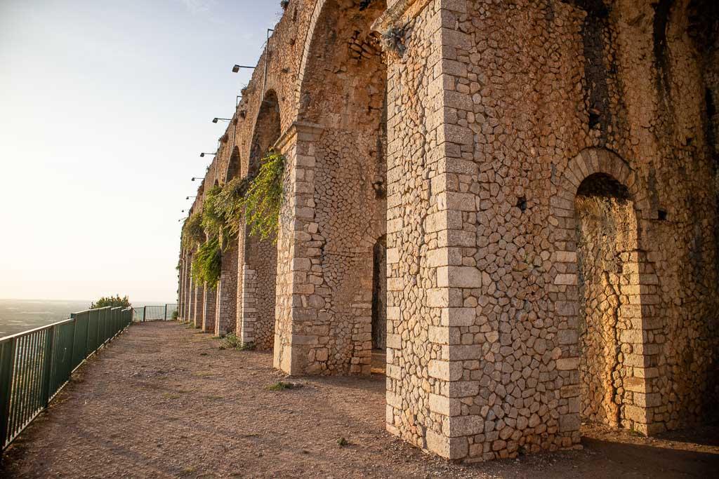 Jupiter Anxur, Temple of Jupiter Anxur, Jupiter Anxur Temple, Terracina temple, Terracina, Latina, Lazio, Italy