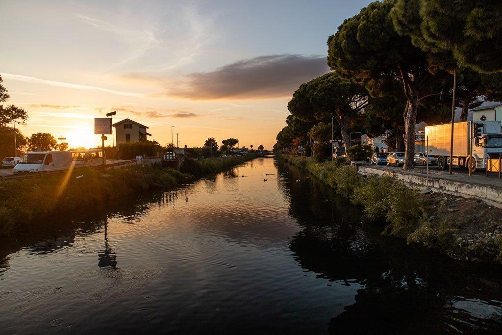 Terracina canals, Terracina, Latina, Lazio, Italy
