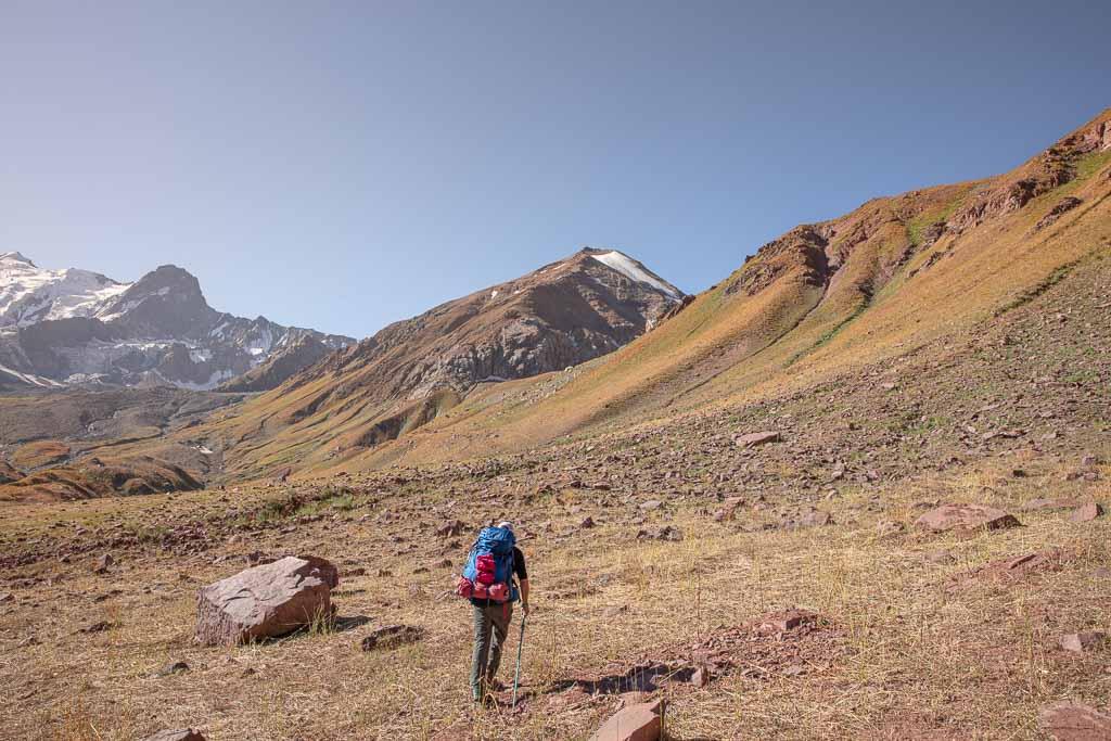 Gardan i Kaftar Pass, Peter the I Range, Rasht Valley, Karotegin, Karotegin Valley, Badakshan, GBAO, Tajikistan, Central Asia