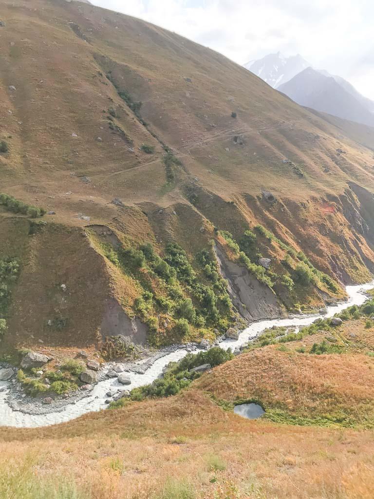 Ziuriuzamin, Ziuriuzamin River, Gardan i Kaftar, Tajikistan