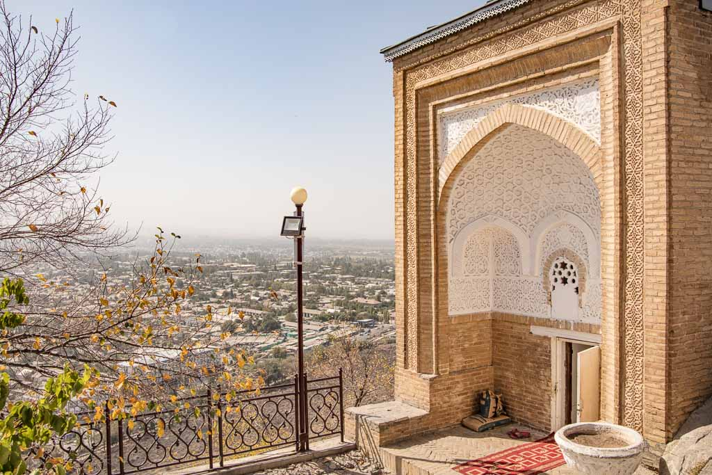 Asif ibn Barkhiya Mausoleum, Osh, Kyrgyzstan
