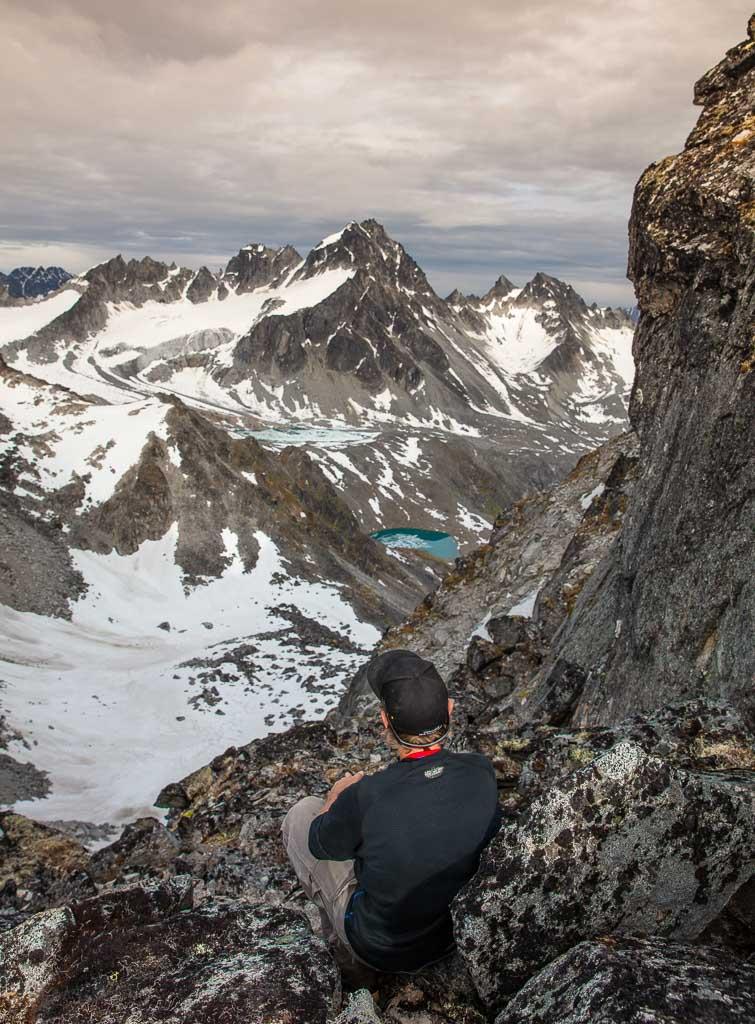 Alaska, Hatcher Pass, Bomber Traverse, Talkeetnas, Talkeetna Mountains, Backdoor Gap
