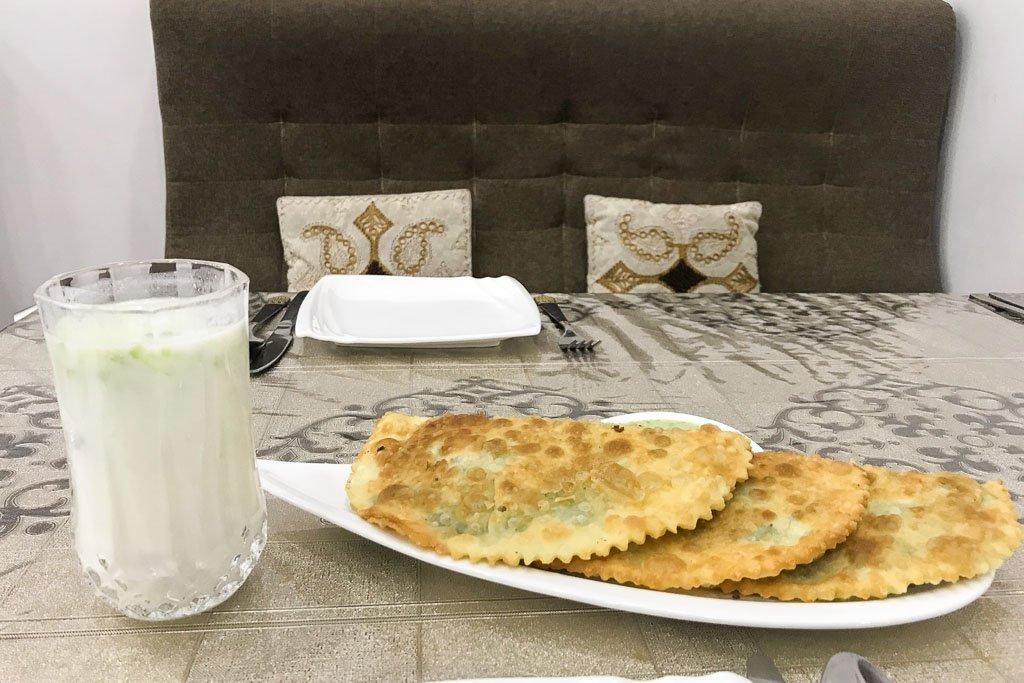 bulani, Afghan Pudding Tashkent, Tashkent, Uzbekistan, Central Asia