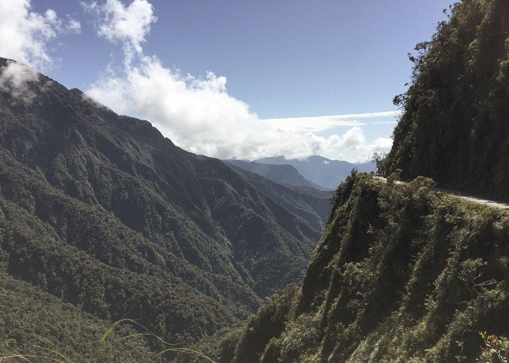 Death Road, Death Road Bolivia, Cycle the Death Road, La Paz, La Paz Bolivia, Bolivia, South America