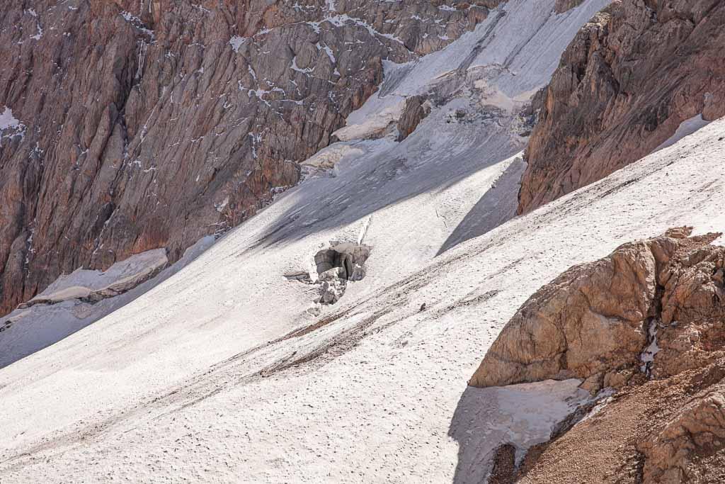 Dukdon Glacier, Dukdon Pass, Fann Mountains, Sughd, Tajikistan, Central Asia