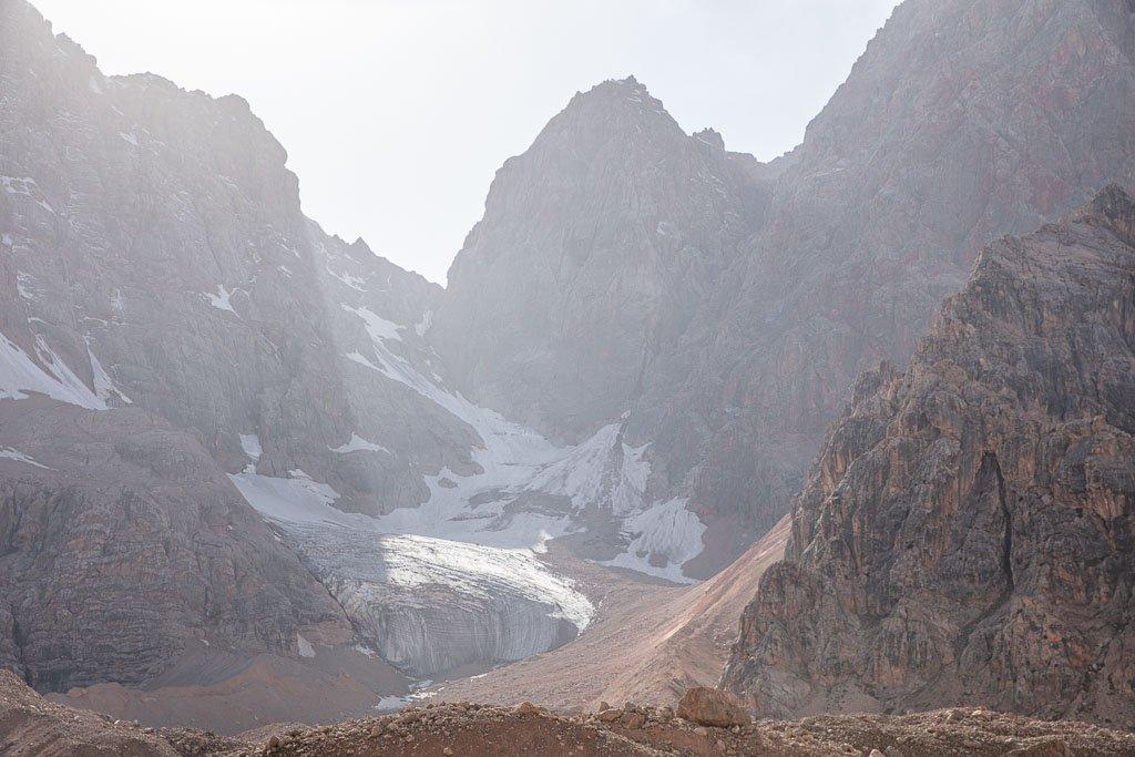 Dukdon Pass, Fann Mountains, Sughd, Tajikistan, Central Asia, Dukdon Range