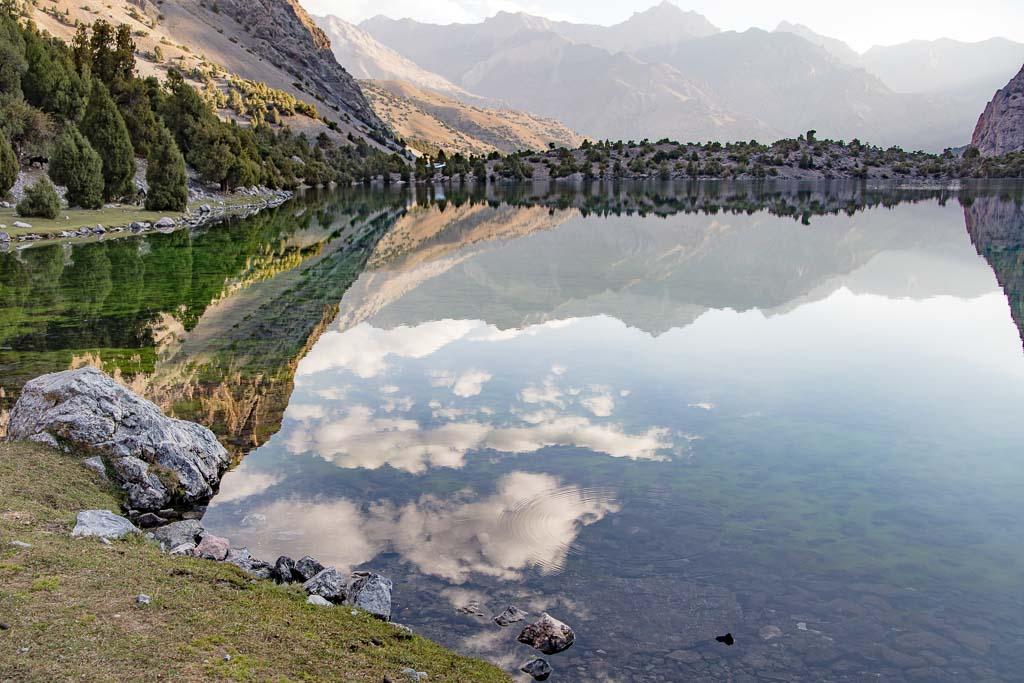 Lakes Loop Tajikistan, Lakes Loop trek, Tajikistan, Fann Mountains, Alovaddin, Lake Alovaddin, Lake Alauddin, Alauddin