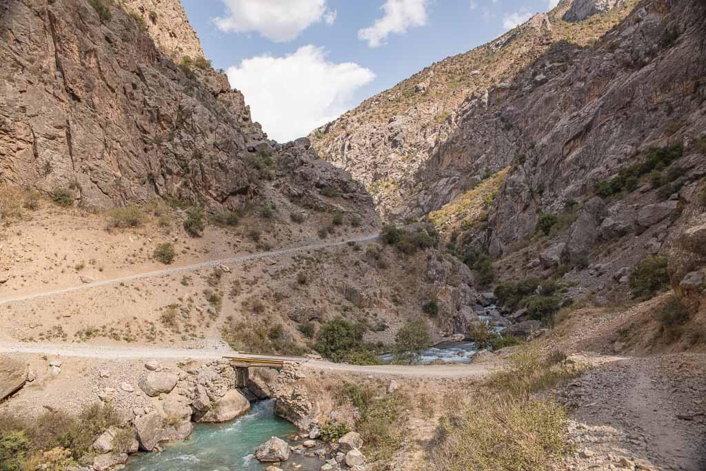 Tajikistan, Fann Mountains, Mogiyon to Rogich, Mogiyon Rogich, Mogiyon Rogich trek, Subashi River,