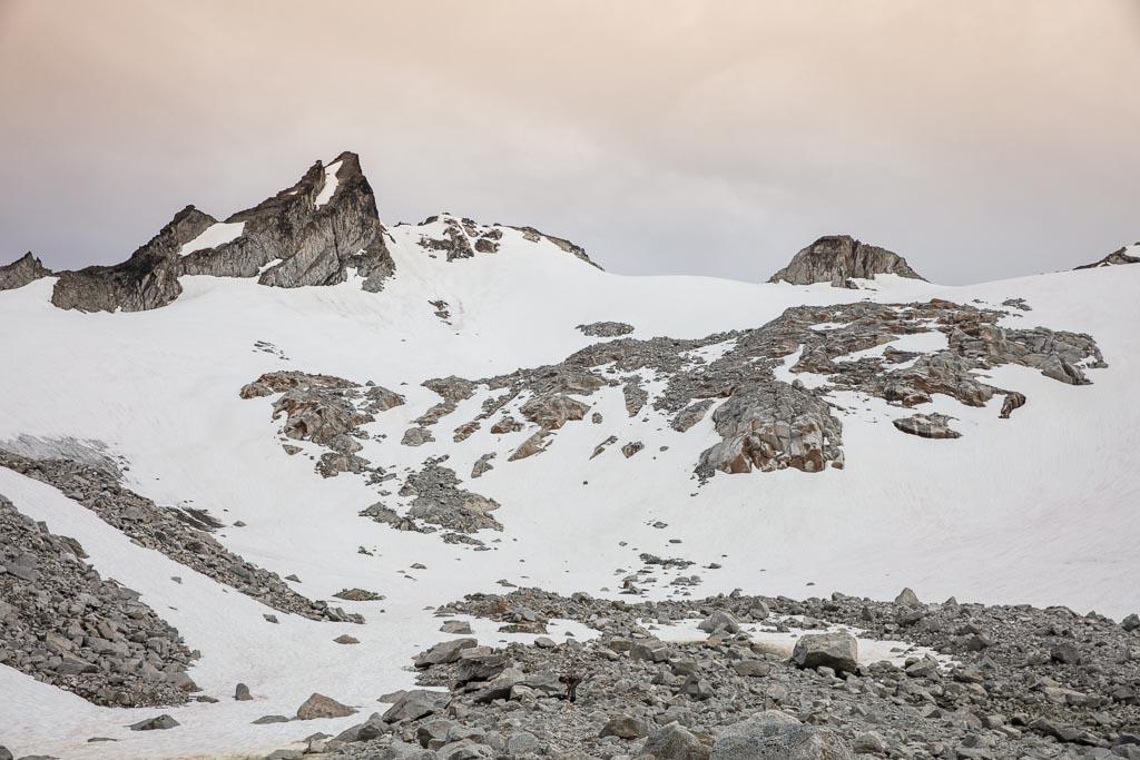Alaska, Hatcher Pass, Bomber Traverse, Talkeetnas, Talkeetna Mountains, Penny Royal, Penny Royal Glacier, Backdoor gap