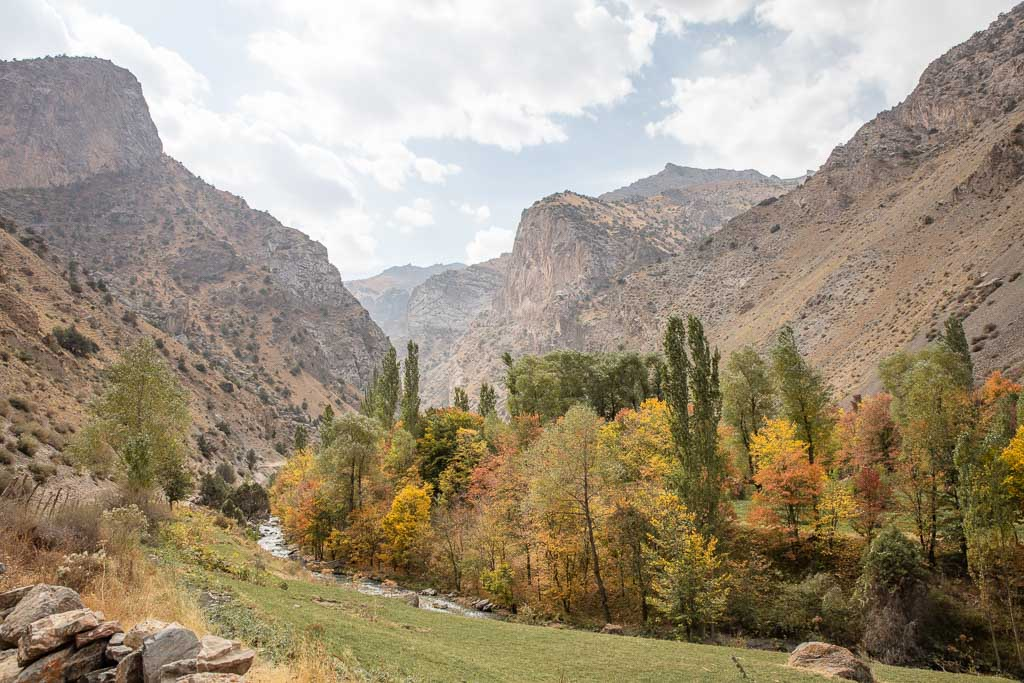 Dukdon Pass, Fann Mountains, Sughd, Tajikistan, Central Asia
