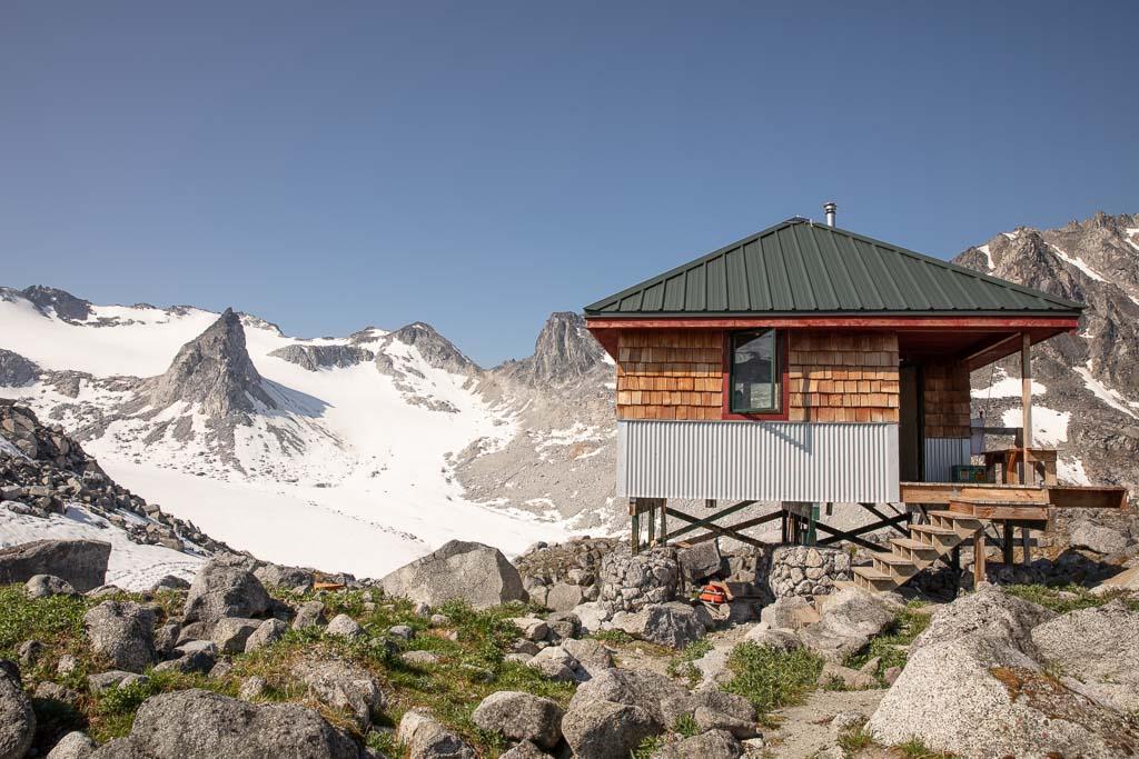 Snowbird Hut, Snowbird-Bomber Hike, Hatcher Pass, Alaska